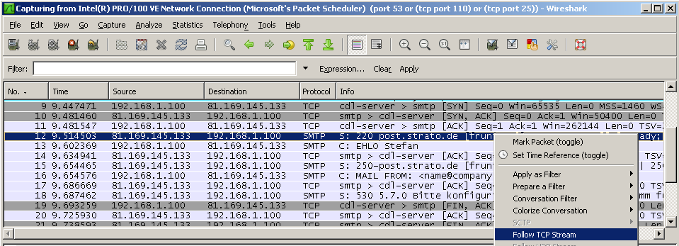 Collecting PCAP Logs with Wireshark | Knowledge Base