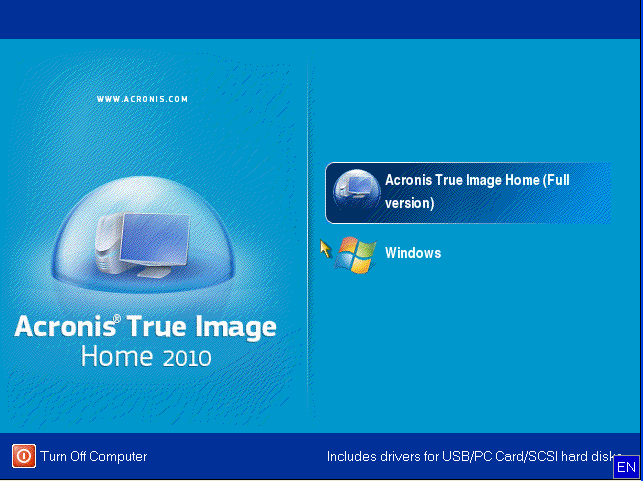 Restoring Windows 7 VHD Backup Files with Acronis True Image
