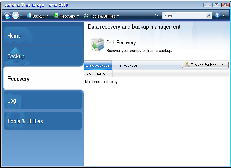 recovery disk windows 7