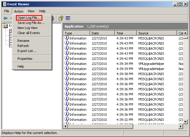 Exporting and Viewing Windows Event Logs | Knowledge Base