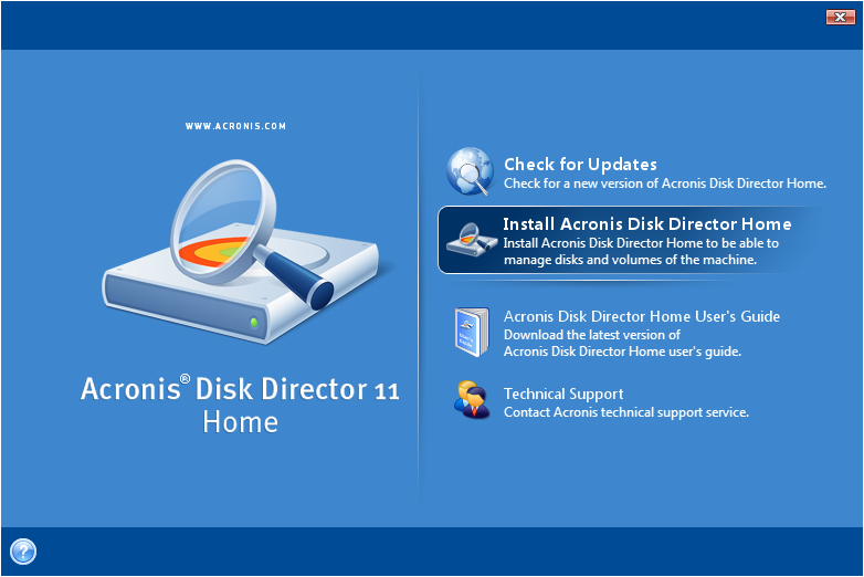Acronis Disk Director 11 Home For Sale