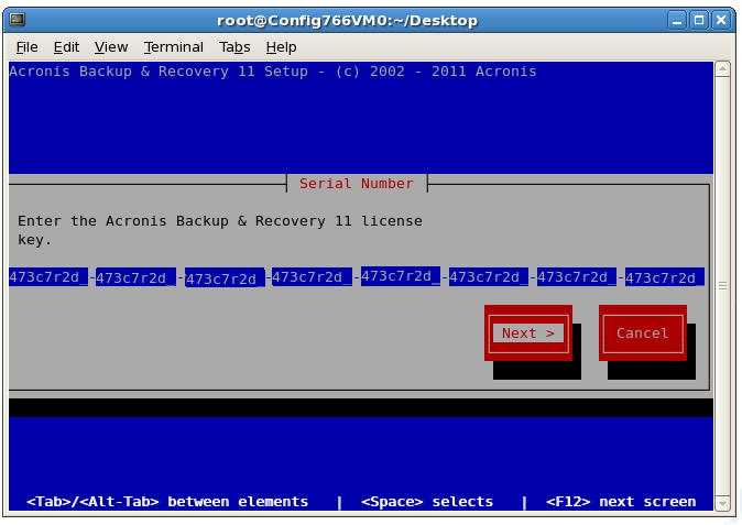 Acronis Backup & Recovery 11 Server for Linux: Installation