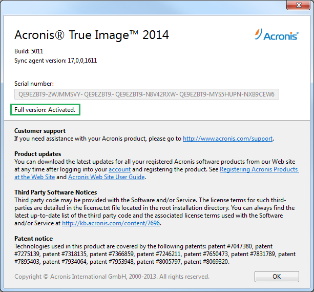 acronis true image 2014 full version free download