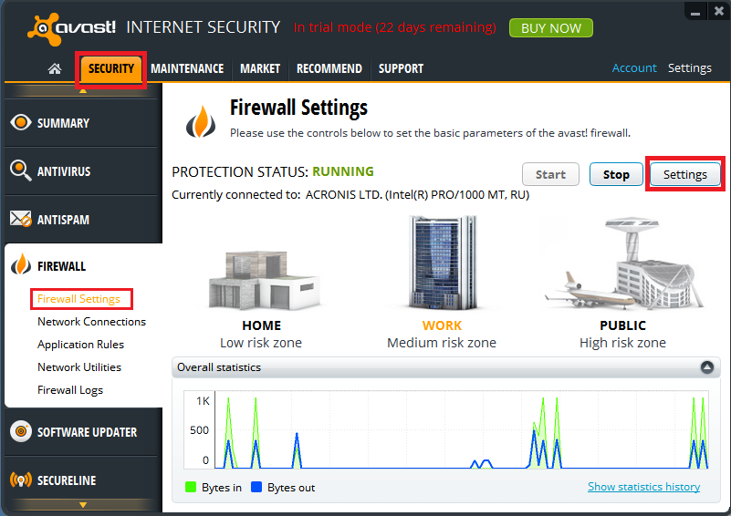 how to add a program to trusted group avast