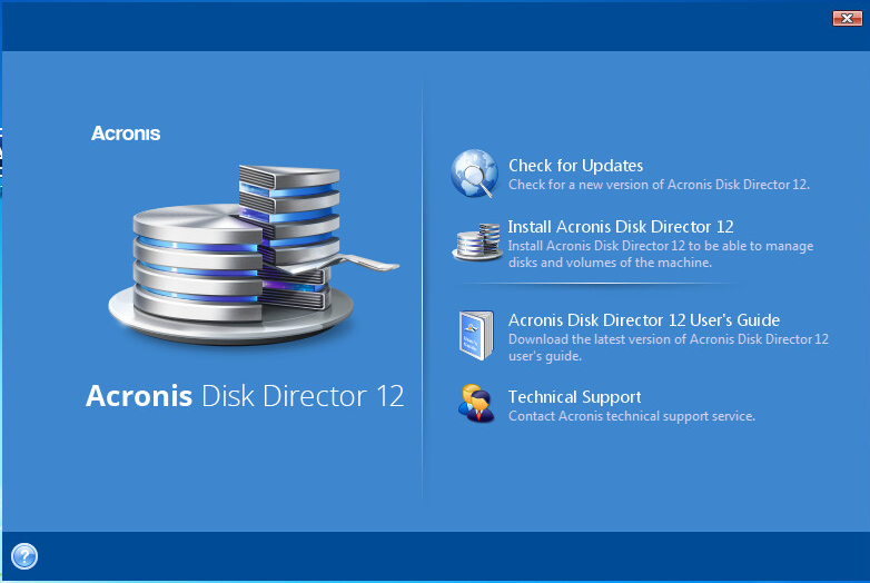 Free download acronis disk director 12. 0. 96 + boot cd.