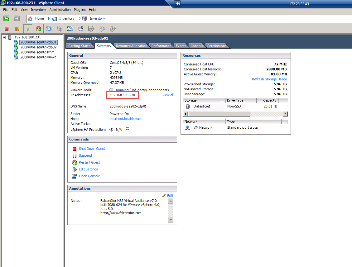 Acronis Disaster Recovery Service: How To Create a SAN