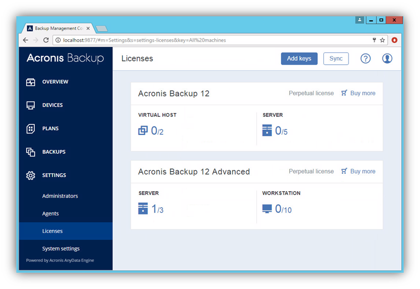 Acronis Backup Advanced For Vmware torrent