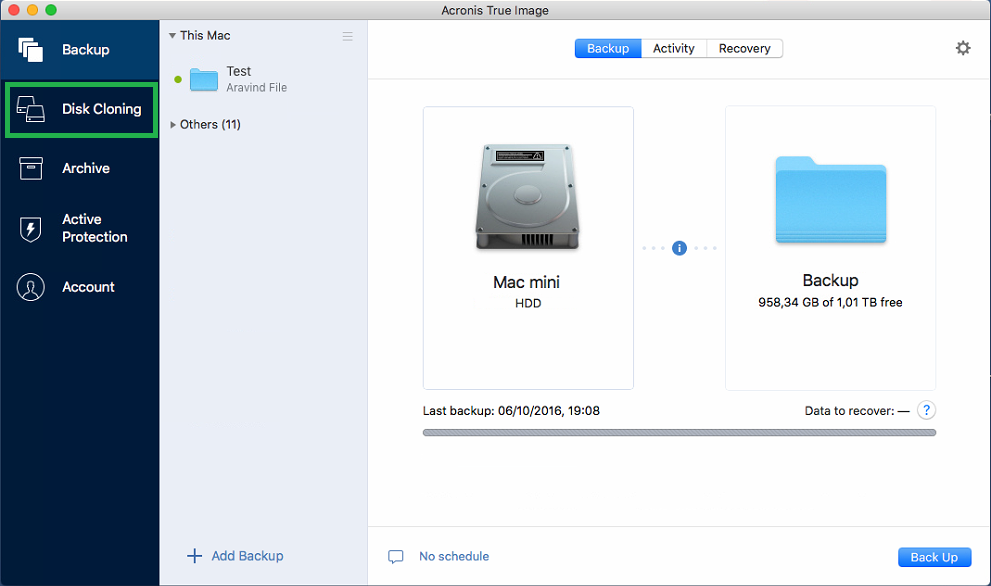 Acronis True Image: How to clone a disk on Mac | Knowledge Base