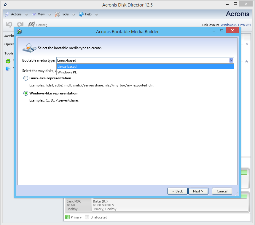 acronis disk director 12 full + bootable iso