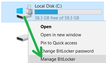 Acronis True Image: compatibility with BitLocker | Knowledge