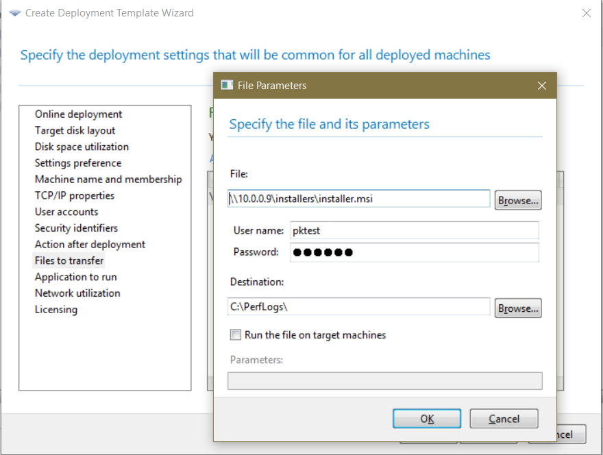 Acronis Snap Deploy 5: Installing software post-deployment using