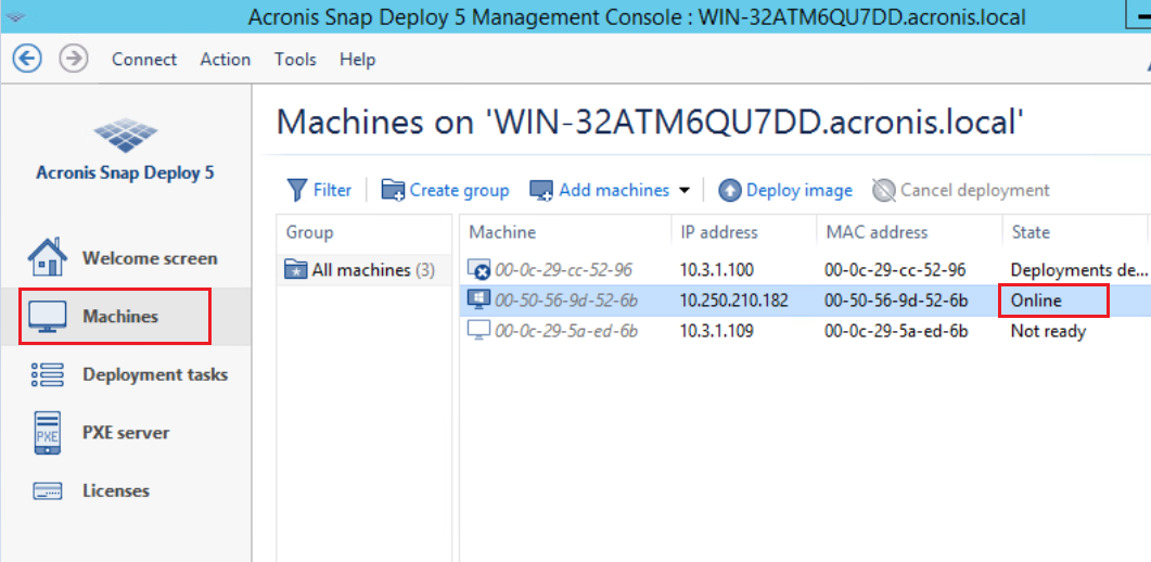 Acronis Snap Deploy for Windows 10 Upgrade How-To