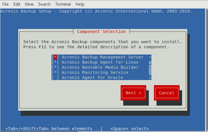 Acronis Backup 12 5 and 12: updating to the latest build