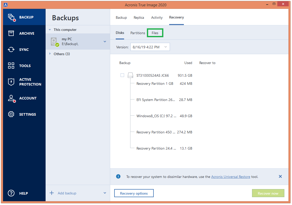 Acronis true image 2020 system requirements pc